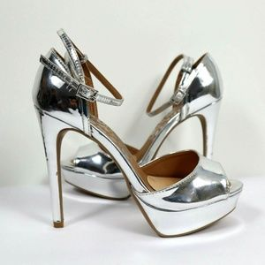 Cut Out Open Peep Toe Stiletto High Exotic Heels